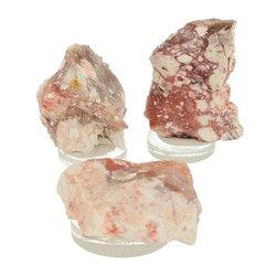 Cinnabar in opaal