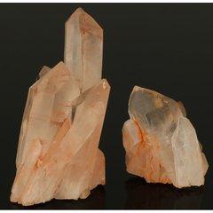 Roze bergkristal uit madagaskar