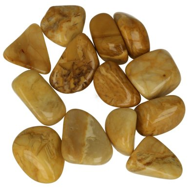 gele jaspis 100 gram