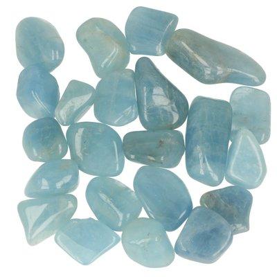 Aquamarijn of blauwe beril 100 gram
