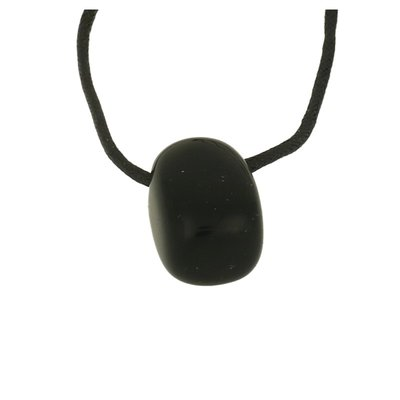 Onyx incl zwart koord