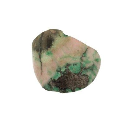 Cuperiet met koper en kobaltcalsiet uit Congo
