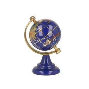 Lapis lazuli wereldbol