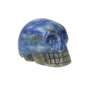 Lapis lazuli ca 3 cm schedel