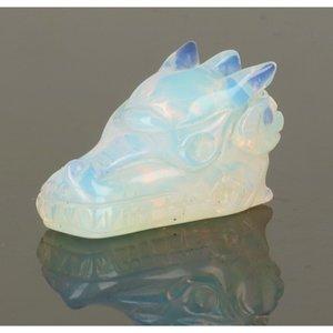 Opaliet of opaline synthetisch draak