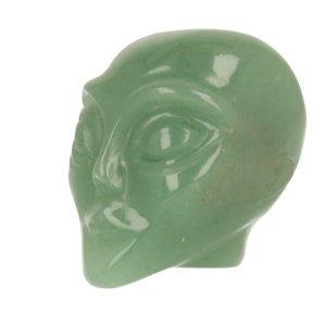 Aventurijn groen  Alien ca 4 cm